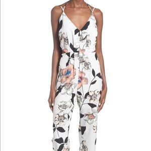 Leith Strappy Floral Jumpsuit